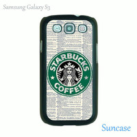 Vintage Dictionary & Starbucks Coffee--Samsung Galaxy S3 case ,iphone 5 case,iPhone 4 case,personalized phone case