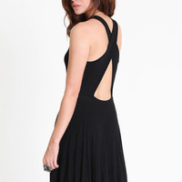 Simply Yesterday Open Back Dress