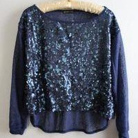 NWT Sequin and Shear Holiday Top!