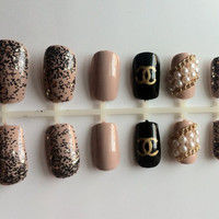 Chanel Designer Press-On Nails