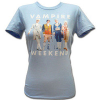 Vampire Weekend Merchandise Store  - Vampire Weekend  Girl's Holiday T-shirt