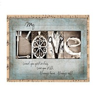 Alphabet Photography LOVE Fine Art Print 8x10 by thehiddenalphabet