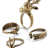 Sir Thing Ring | Mod Retro Vintage Rings | ModCloth.com