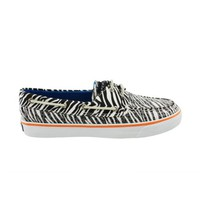 Womens Sperry Top-Sider Bahama Boat Shoe, BlackWhite Zebra  Journeys Shoes