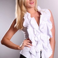 White Ruffle Short Sleeve Button Up Top @ Amiclubwear Top Shirt Clothing Online Store: Dress Shirt,Sexy Womens Shirt,T Shirts,Corset Dress,White T Shirt,Girl T Shirt,Short sleeve top,Sexy Shirts,Hawaiian Shirts,Cute Tops,hawaiian aloha shirt,Tight Shirt,C