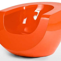Retro To Go: Space age Moon Chair by Mike To for Made.com