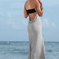 Low cowl back maxi dress from VENUS