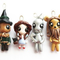 Wizard of Oz Miniature Sculptures Charm by WonderlandContraband