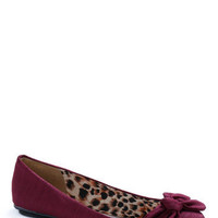 Downstream Surprise Flat in Magenta | Mod Retro Vintage Flats | ModCloth.com