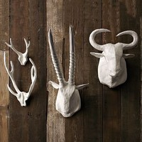 Papier-Mâché Animal Sculptures | west elm