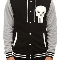 Marvel Universe Punisher Varsity Hoodie - 310004