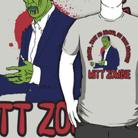 MITT ZOMBIE &quot;Romney&quot; by OBEY ZOMBIE