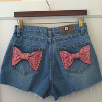 Picnic bow shorts