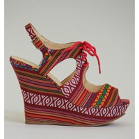 Aztec Cutout Wedges