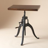 GEARWORKS TABLE        -                Occasional Tables        -                Furniture        -                Furniture & Decor                    | Robert Redford's Sundance Catalog