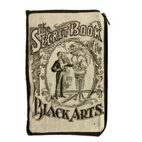 Secret Book of the Black Arts Makeup Bag / Pencil Pouch