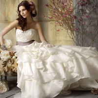 Wedding dress prom gown evening ball Formal DEB Sz 2-4-6-8-10-12-14- in Stock