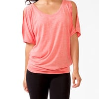 Oversized Cutout Dolman Top