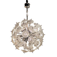 Hamptons Antique Galleries II LLC - Mid Century Sputnik Chandelier