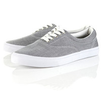 Grey ''Mystery'' Chunky Plimsolls - Plimsolls & Sneakers  - Men's Shoes
