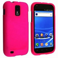 Amazon.com: Hot Pink Rubberized Hard Snap-on Protector Shell Case Face Plate Cover For Samsung Hercules T989 Galaxy S2 (T-Mobile): Cell Phones & Accessories