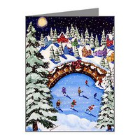 Christmas Note Cards (Pk of 20)> Greeting Cards Post Cards Note Cards> Renie Britenbucher Artwork