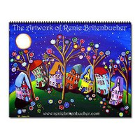 Renie Britenbucher Artwork 12 Month Wall Calendar> Calendars > Renie Britenbucher Artwork