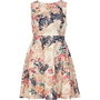 Pink Chelsea Girl floral skater dress