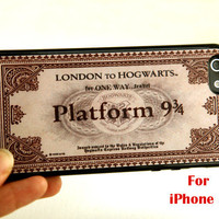 iPhone 5 Case, Express Train Ticket  iphone 5 case