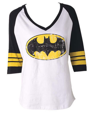 Batman Raglan at Alloy