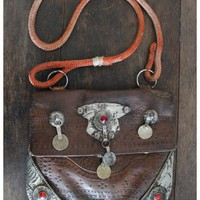 Treasure Blue - Moroccan Bag