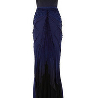Zac Posen|Cutout silk gown|NET-A-PORTER.COM