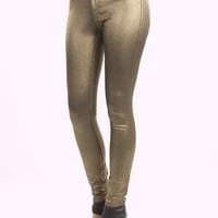 BB Dakota Jera Metallic Jeans | MessesOfDresses.com