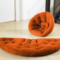 Fresh Futon Nido Orange