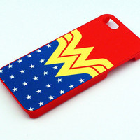 Wonder Woman Inspired--iphone 5 case,iPhone 4 case,Samsung Galaxy S3 case ,personalized phone case
