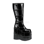 Pleaser- -Stack 301 Platform Knee High Gogo Boots by Demonia-Shoes-Womens-View All