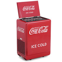 The Classic Coca-Cola Refrigerated Chest - Hammacher Schlemmer