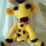 OOAK Hand-Crocheted Amigurumi Giraffe