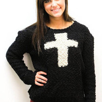 MACA Clothe  Cross Sweater
