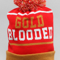The Gold Blooded Beanie