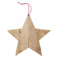 Wooden Star Large - 11.95 : le souk, unique living