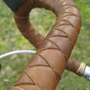 Braided Strap Leather Drop Bar Wraps by WalnutStudiolo on Etsy