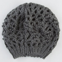 Open Weave Womens Beret 203470115 | Hats | Tillys.com