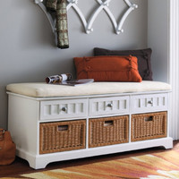 Chelsea Storage Bench - Grandin Road