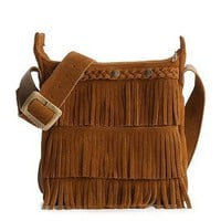 Minnetonka Fringe Cross Body Bag