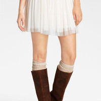 Lily White Tulle Skirt (Juniors) | Nordstrom
