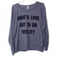What's Love Raglan (Select Size)
