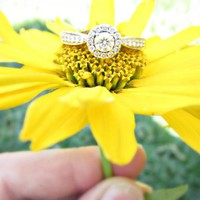 Satterfield and Dempsy, 1/2 CT Pav? Engagment Ring