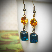 Rew Elliott: Anne Earrings Aqua Sun, at 25% off!