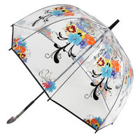 Bloom Over Gloom Umbrella | Mod Retro Vintage Umbrellas | ModCloth.com